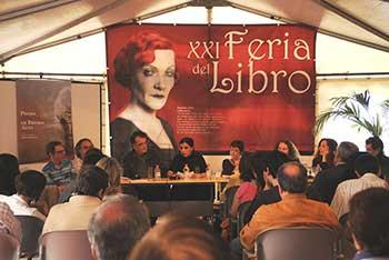 Presentación de la antología en la Feria del Libro en las Islas Canarias