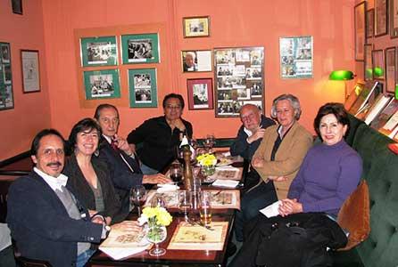 Lizalde, Yolanda, Beltrán, Hilda, Ramón Vera, Leyva. En Varsovia