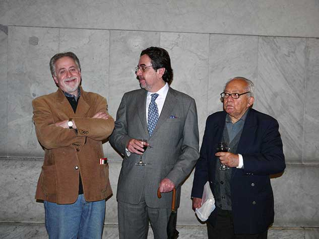 Jorge Boccanera, Jorge Valdés-Díaz Vélez-Foto: Pascual Borzelli-2009
