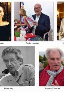 Cinco poetas de la Academia Mallarmé de Paris