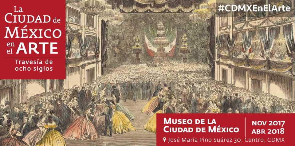La ciudad de México en el arte